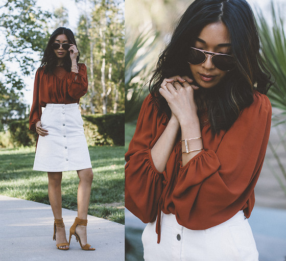 Stephanie Liu - H&M Top, H&M Skirt - Summer Boho