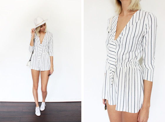 Sietske L -  - THE PINSTRIPE PLAYSUIT