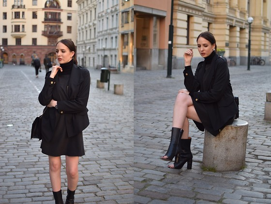 Lizzy Hadfield - Acne Boots - Black Again