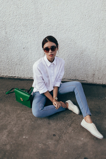 Tricia Gosingtian - Base Top, Bobson Pants, Kate Spade Saturday Bag, Kate Spade For Keds Sneakers, Zerouv Sunnies - 061515