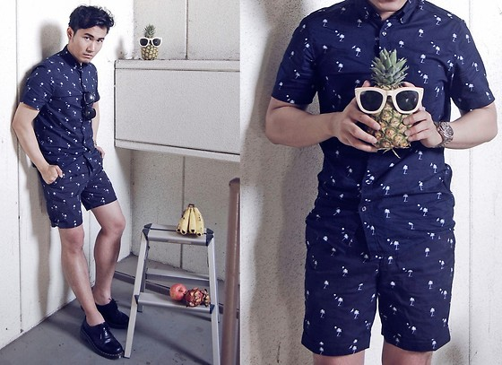 KIKO CAGAYAT - H&M Playsuit - Fruit salad, anyone?