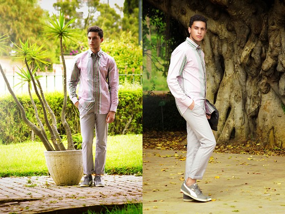 Spoke STYLE - State Of Art Shirt, Topman Pants, Puma Sneakers, See The Whole Look On My Blog - BACK IN COLOR