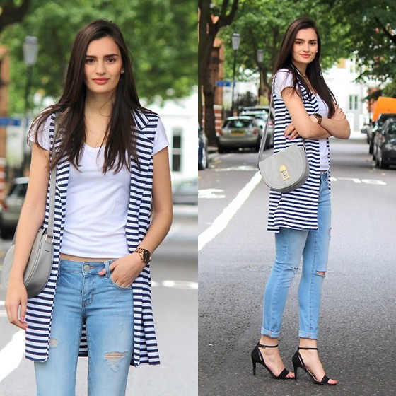 Patricia B -  - Jeans and Tshirt