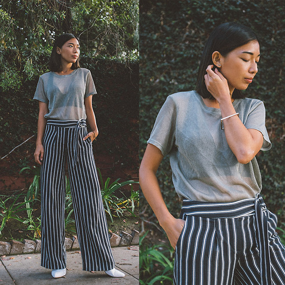 Stephanie Liu - Elizabeth Roberts Top, H&M Pants - Coming of Age