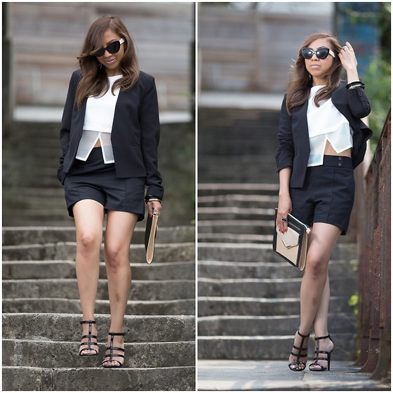 "Holy Rakoto - Mango Heels - ""Black & white look! """