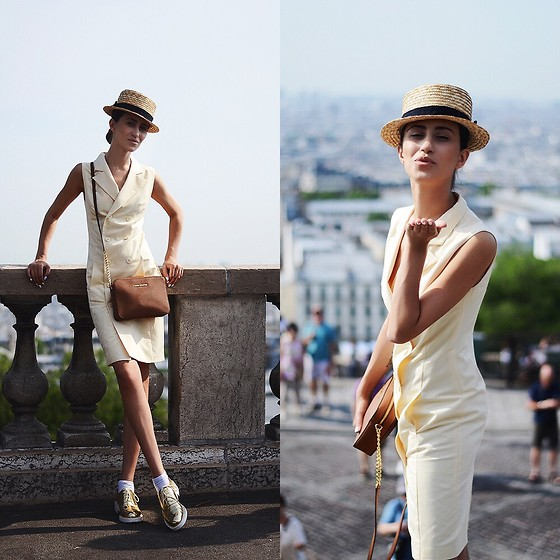 Tina Sizonova - Must Have Dress, Michael Kors Bag, Zara Shoes - Monmartre