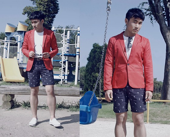 KIKO CAGAYAT - Cndirect Red Blazer - Growing Up