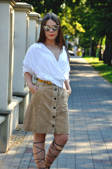 Martyna R -  - DIY lace-up sandals