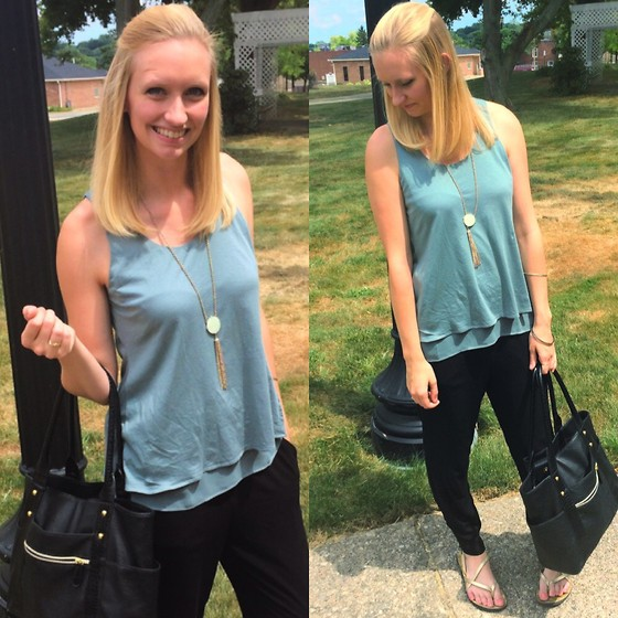 Jacquelyn Kerby -  - Layered Tank...