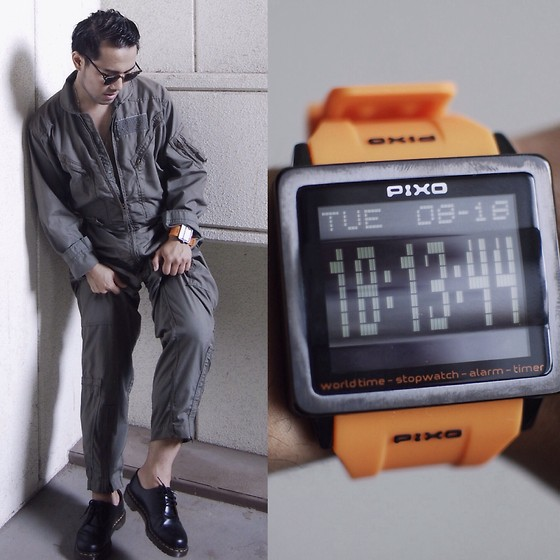 KIKO CAGAYAT - Pixo Watch Px1 - PIXO  ORANGE