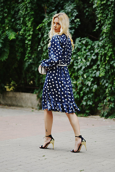 Kseniya Celikdelen - By Daria Shibanova Dress, Zara Shoes - POLKA DOTS