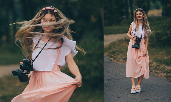 ♡Anita Kurkach♡ - Dresslink Skirt, Sheinside Shoes - PASTEL!