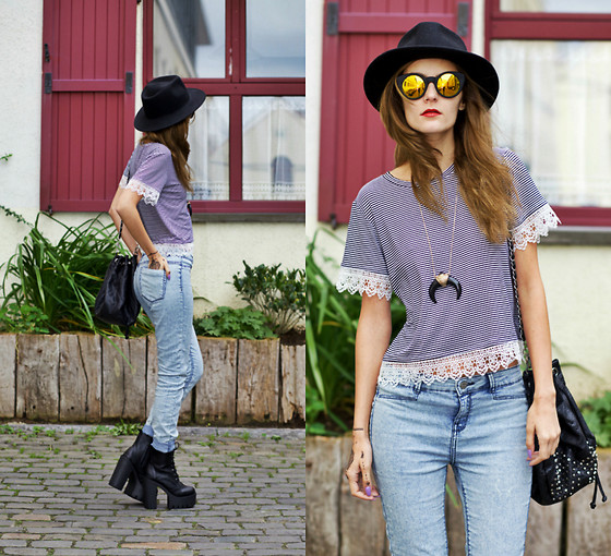 Ruxandra Ioana - Lucluc Top, Lovelywholesale Boots - Love is for free