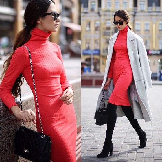 Tina Sizonova -  - Turtleneck Dress