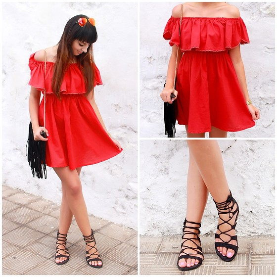 Joanna K. -  - RED DRESS ♥ || by PLAAMKAA