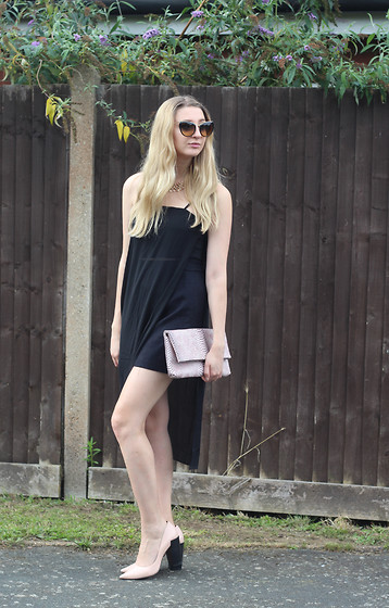 Laura Rogan - Miu Sunglasses, Missguided Top/Dress, Boohoo Clutch, Whistles Shoes - Simple Pairings