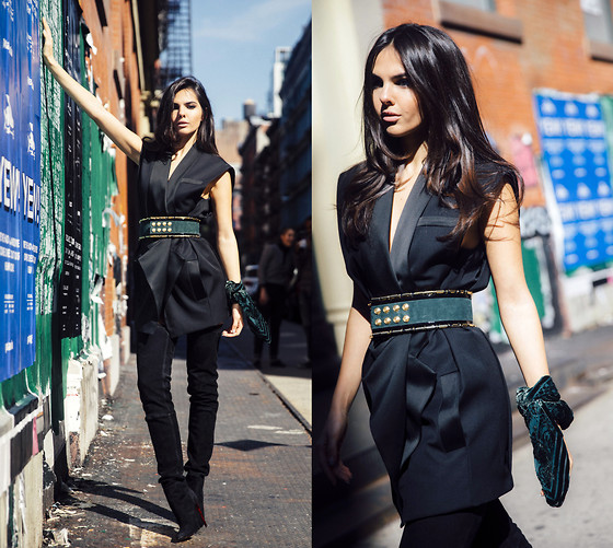 Doina Ciobanu - H&M X Balmain - Balmain for H&M in New York