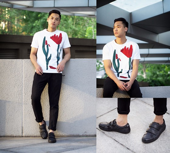 Chris Su - Marni Tee, Gucci Shoes - Send me your flowers