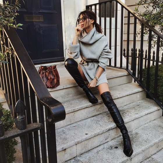 Doina Ciobanu - Thigh High Leather Boots - Sweet autumn baby ♫