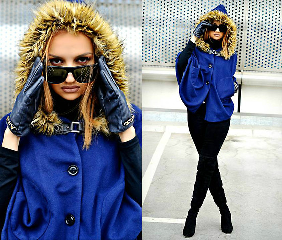 Inside the B World - Dealsale Poncho Coat - Dealsale poncho