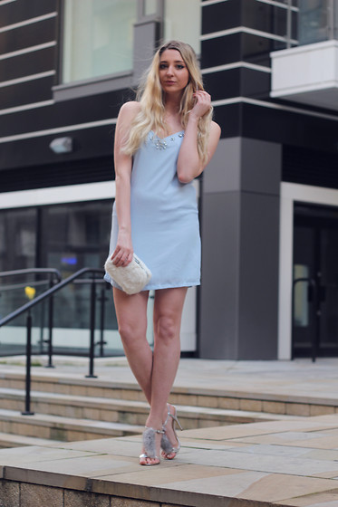 Laura Rogan - Missguided Dress, Dorothy Perkins Bag, Public Desire Shoes - New Years Eve: The Slip Dress