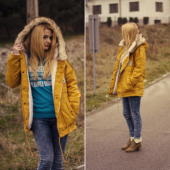 Charmeuse - Mustard Parka - Www.charmeuse.pl