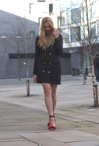 Laura Rogan - Missguided Dress, Public Desire Shoes - Military Chic