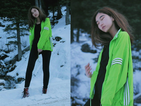 Anel - Adidas Jacket - Winter is going to end @lookbook