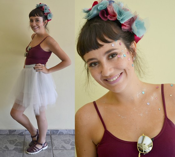 Luiza Moraes - Cherry By Boaonda Chunky Shoes - É CARNAVAL !