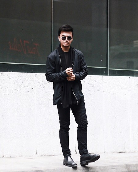 Michael Macalos - Rick Owens Pants, Asos Shirt, Alexander Wang Shirt Nylon - We never go out of style