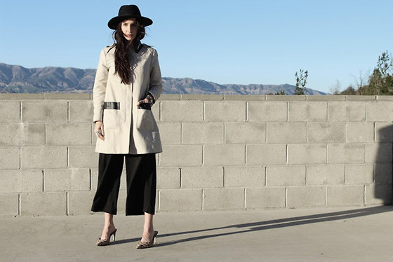 ASH - H&M Trench Coat, Culottes - Trench coat and Culottes