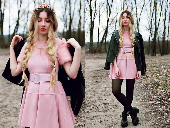 ♡Anita Kurkach♡ - Wholesale7 Dress, Sheinside Jacket - PINK QWEEN!