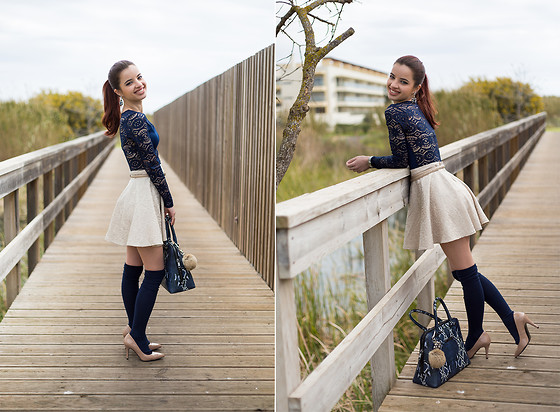 Cátia Dionísio - Cndirect Over The Knee Socks, Aldo Bag - Look 162