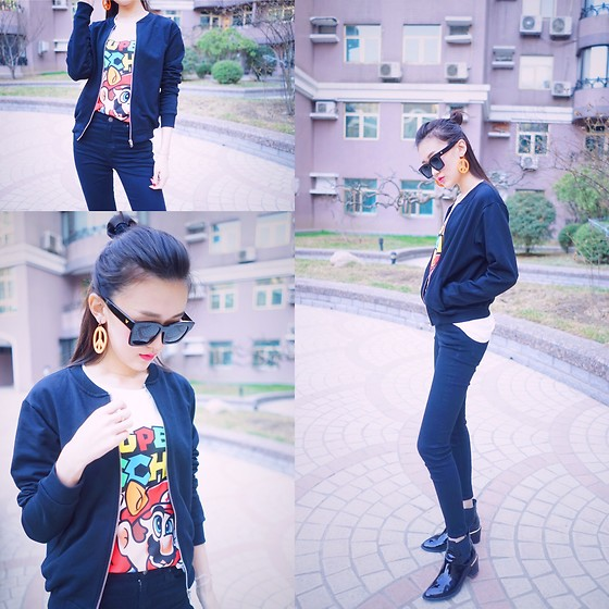 Lilian.Chen - Moschino T Shirt, Topshop Jeans, Asos Jacket - LiliansLook Day21