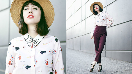 Amy Roiland - Miss Patina Blouse - Minou Minou
