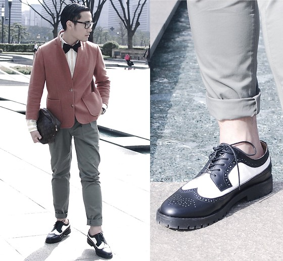 KIKO CAGAYAT - Louis Vuitton Bag, Uniqlo Pants - Hotel Royale