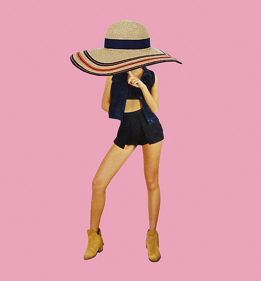 Yaki Man -  - Cowgirl and her big hat