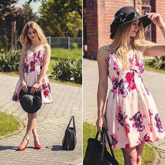 Charmeuse - Romwe Flower Dress - Www.charmeuse.pl
