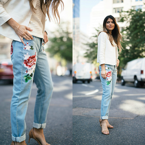 Pam Hetlinger -  - Embroidered Jeans