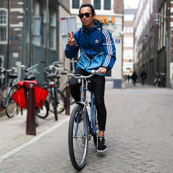 Christian Chou - Adidas Colorado Shadow Blue Windbreaker Jacket, Denham Bolt, Adidas X Palace Pure Pro Boost - ▼▽ Adidas x Fjallraven ▽▼