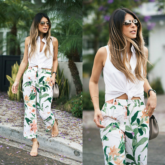 Pam Hetlinger - Ann Taylor Floral Pants - Weekend Ready