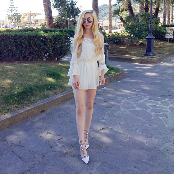 Isobel Thomas - Boutique Of Molly Boho Playsuit, Maison Valentino Valentinos - Valentinos For Summer