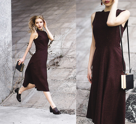 Margo Bryksina - Zara Bag, Zara Dress - SHELTER