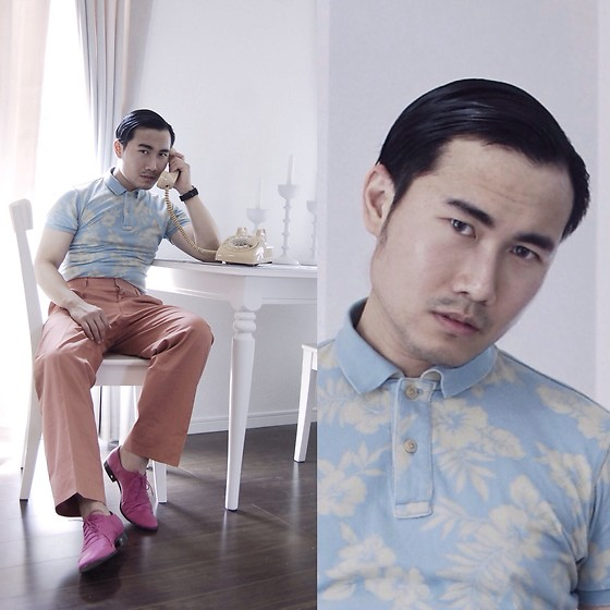 KIKO CAGAYAT - H&M Shoes, Uniqlo Shirt - Hello, it's me
