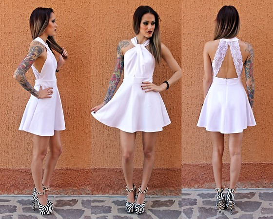 Karen Cepeda - Made By Me! White Dress - White Lace Dress!