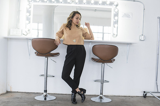 Courtney Y - The Fifth Label Front Row Top, Asos Black Pants - The fifth label