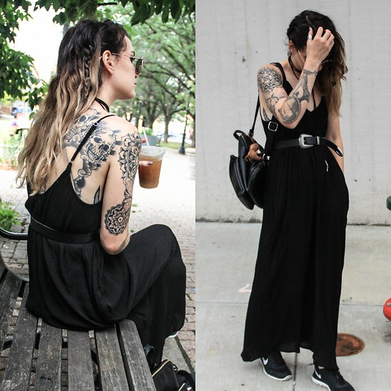 Wawa Baby - Threadlust Dress, Nike Sneakers - Gypsy Soul
