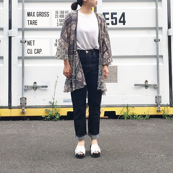 Mau - Moussy Shoes, Zara Outer - OOTD