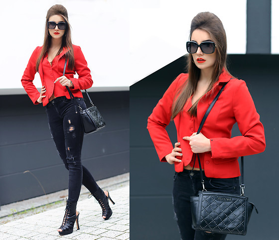 Panda Mone - Denny Rose Jacket - RED BLOODED WOMAN.