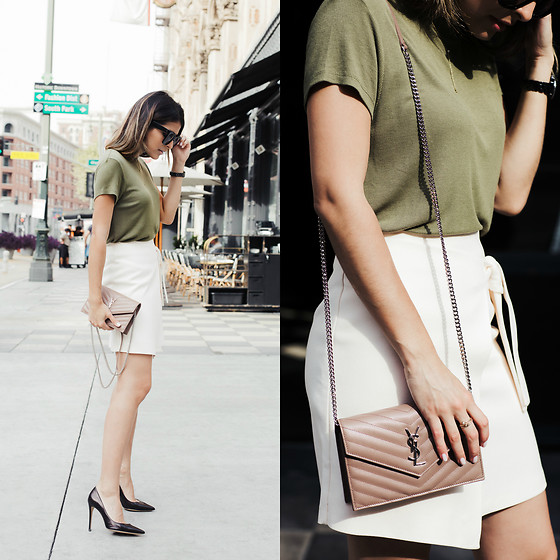 Pam Hetlinger - Topshop Wrap Mini Skirt - Wrap Mini Skirt